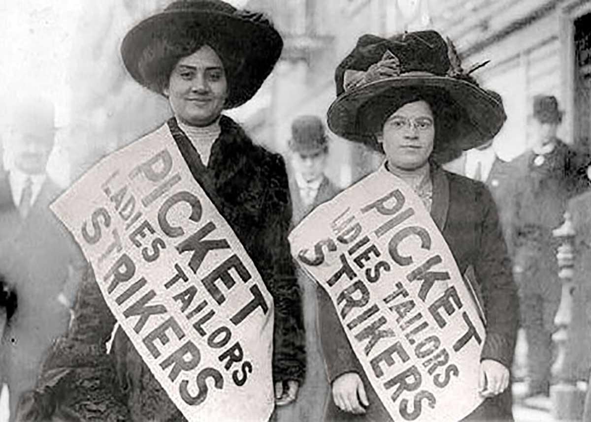 Festa della donna: sciopero delle camiciaie di New York, 1909-1910