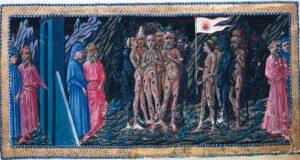 L'incontro di Dante e Virgilio con gli ignavi