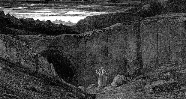 La porta dell'Inferno di Dante secondo Gustave Doré
