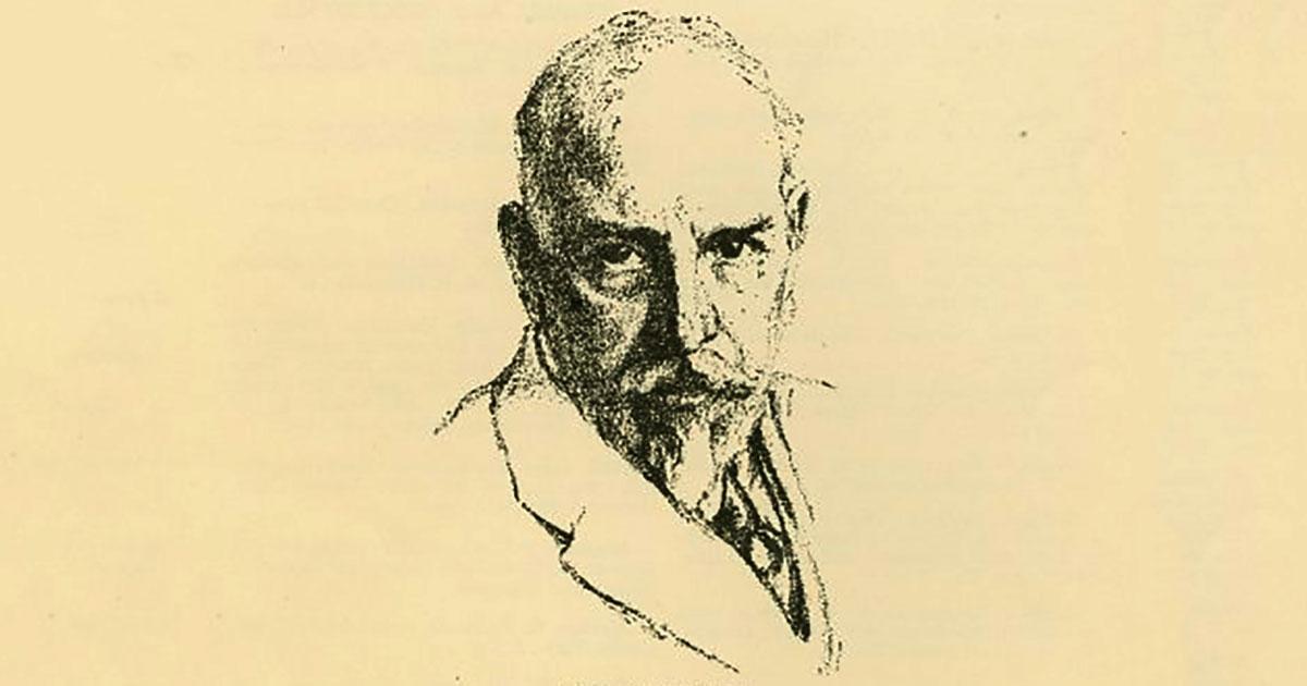 Luigi Pirandello, autore della novella La carriola