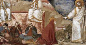 Le donne al sepolcro di Gesù e la Pasquetta