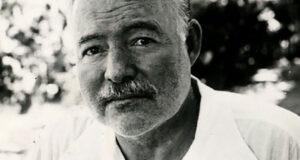Ernest Hemingway, autore di Fiesta (Il sole sorgerà ancora)