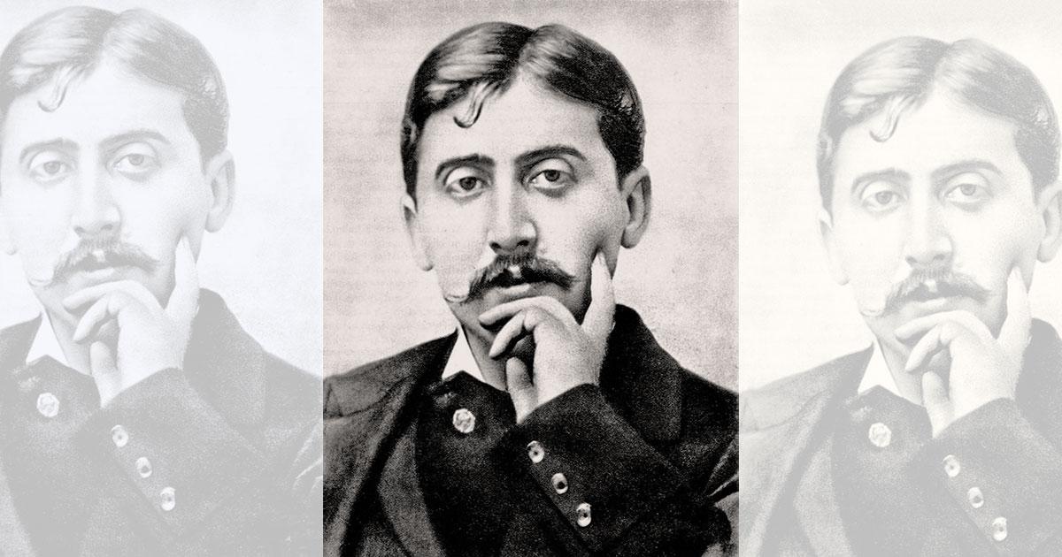 Marcel Proust (1871-1922) autore del romanzo-fiume Alla ricerca del tempo perduto