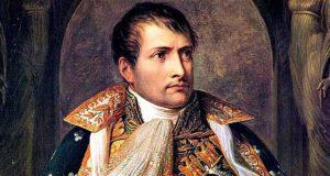 Napoleone Bonaparte (1769-1821) celebrato da Manzoni nell'ode Il cinque maggio