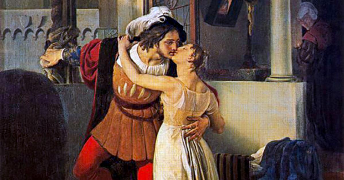 La storia tra Romeo e Giulietta è per antonomasia un amore tra anime gemelle