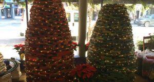 Come fare un albero di Natale con i libri